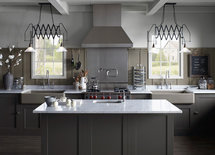 What is the style and manufacturer of the cabinets? or are the custom?