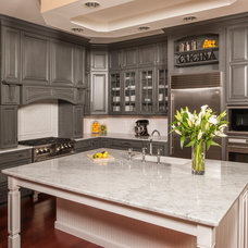 Traditional Kitchen by Steven Paul Whitsitt Photography