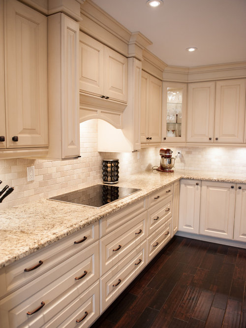 Giallo Ornamental Backsplash Ideas Pictures Remodel And