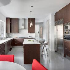 Contemporary Kitchen by Blutter Shiff Design Associates