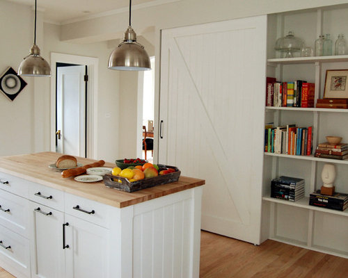Pantry With Sliding Barn Door