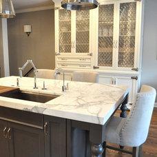 Traditional Kitchen by Rebekah Zaveloff | KitchenLab