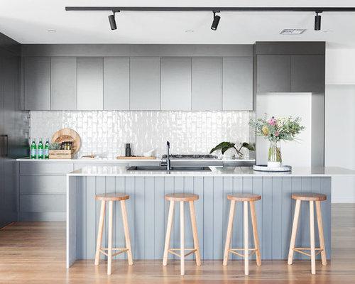 25 Best Canberra - Queanbeyan Kitchen with Gray Backsplash Ideas ...