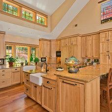 Craftsman Kitchen by Dennis Paige Real Estate