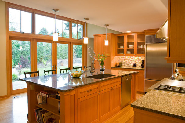 Contemporary Kitchen by Paul Moon Design