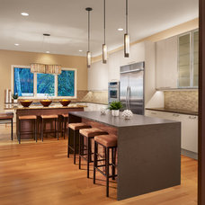 Contemporary Kitchen by Laura Burton Interiors