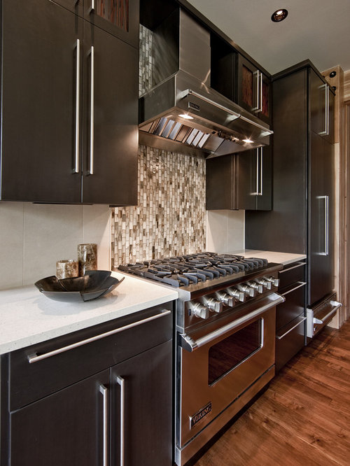Marvelous Inspiration For A Contemporary Kitchen Remodel In Seattle With Stainless  Steel Appliances   Kitchen Stove Backsplash