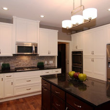 Traditional Kitchen by ALPINE CABINETRY LLC