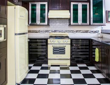Nostalgic Industrial Kitchen
