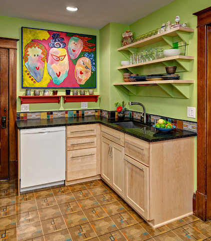 Eclectic Kitchen by Christine Nelson Design