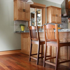 Traditional Kitchen by Elegant Hardwood Floors