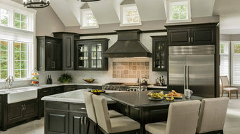 Not your Typical Black and White Kitchen
