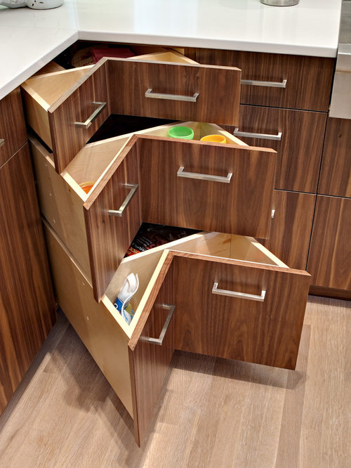 Small kitchen storage ideas home design ideas pictures - Corner Drawer Ideas Pictures Remodel And Decor