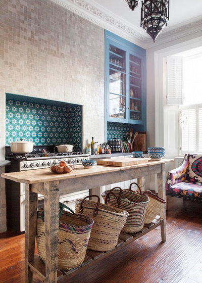Eclectic Kitchen by Studio Morton