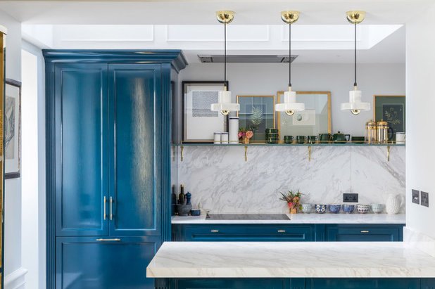 Transitional Kitchen by Kitchens By Holloways