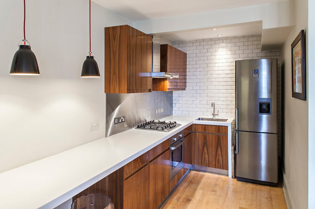 Contemporary Kitchen by Maxwell & Company Architects