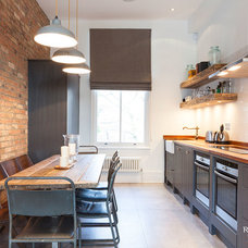 Industrial Kitchen by RoughLiving
