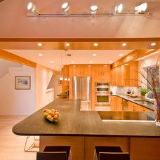 Contemporary Kitchen by SunSwallow Design, LLC