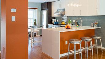NoVA Townhouse Kitchen Remodel - Open Floor Plan