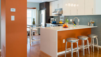 NoVA Townhouse Kitchen Remodel - Open Floor Plan