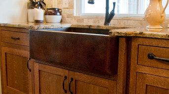 Novatto FARMHOUSE Copper Kitchen Sink