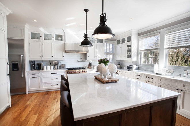 Transitional Kitchen by John Johnstone