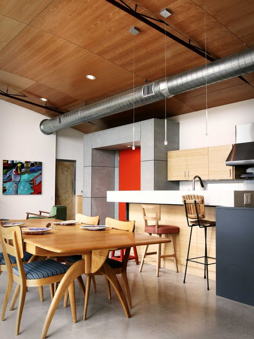 Exposed Hvac Home Design Ideas Pictures Remodel And Decor