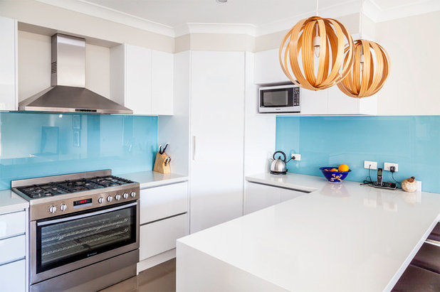 Contemporaneo Cucina by Detail 9 Architects Pty Ltd