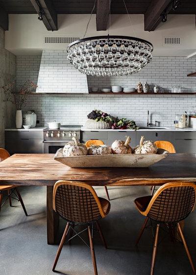 Industrial Cocina by Jessica Helgerson Interior Design