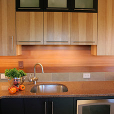 Contemporary Kitchen by Janel Campbell, CKD,CBD,CAPS/Neil Kelly Company