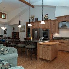 Craftsman Kitchen by A Kitchen That Works LLC