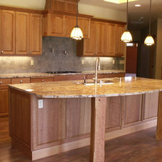 Traditional Kitchen by Chilton Custom Homes