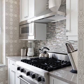 "NYC Eastside Art inspired remodel ""glitterati kitchen"""