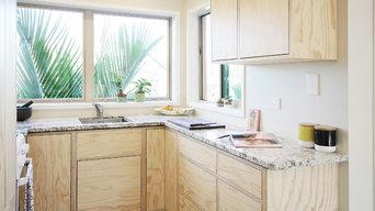 NZ Pine Plywood Kitchen