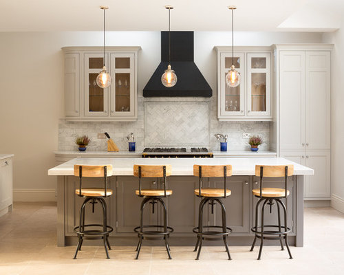 transitional kitchen design ideas remodel pictures houzz - Transitional Kitchen Design