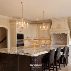 Traditional Kitchen by New Line Design