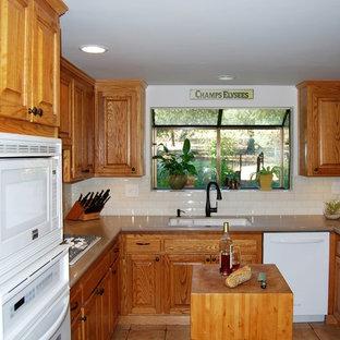 Oak Cabinets Updated