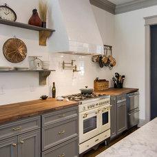 Transitional Kitchen by Millworks Designs