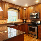 From white laminate thermofoil kitchen cabinets to ...