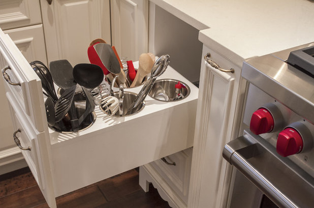 See More Ideas For Corner Cabinet Storage Traditional Kitchen By Jory Work