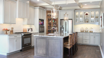 Oak Hollow Transitional Kitchen