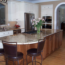 Traditional Kitchen by Modern Supply Kitchen, Bath and Lighting Showroom