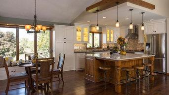 Oak to white: Kitchen Remodel