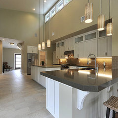 modern kitchen by Brodie Builders