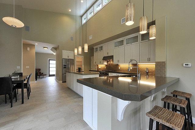 Modern Kitchen by Brodie Builders