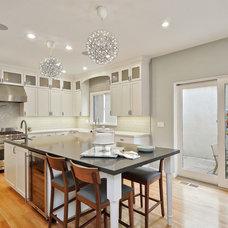 Transitional Kitchen by Heather Cleveland Design
