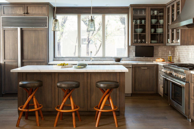 Transitional Kitchen by Will Wick