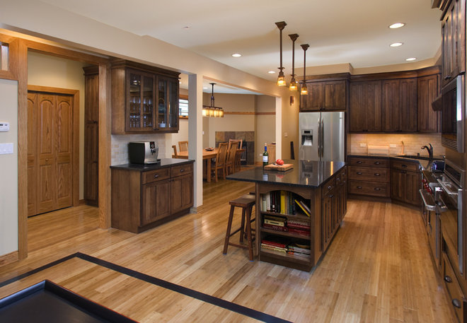 Traditional Kitchen by Northlight Architects LLC