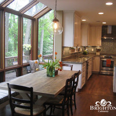 Eclectic Kitchen by Brighton Cabinetry