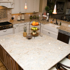 Traditional Kitchen by Black Diamond Construction Co.